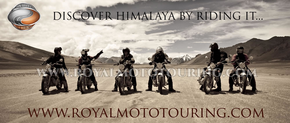 Manali to Leh Motorcycle Tour, Guided Himalaya motorbike tour